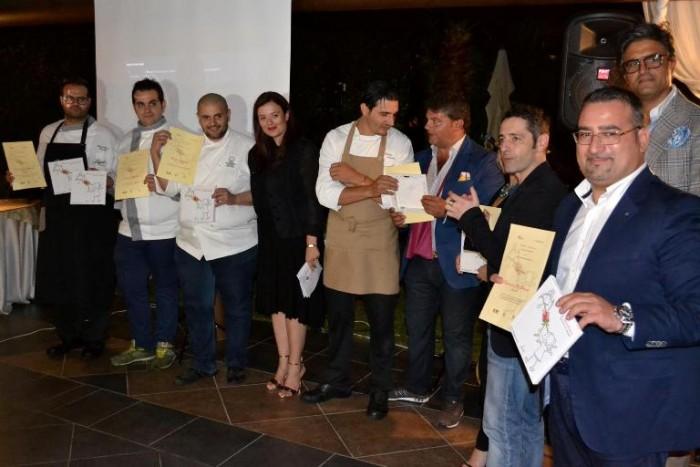 la seconda edizione di Ritratti del Territorio, i premiati insieme a Nunzia Gargano