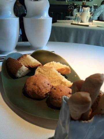 Pipero al Rex, pane, focaccia, grissini