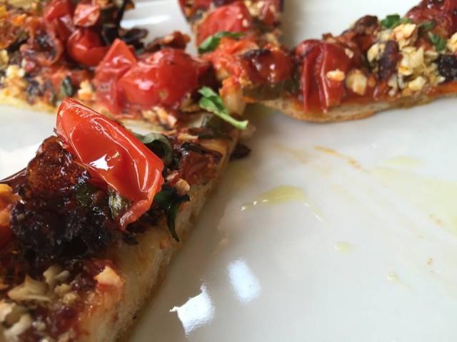 Il Sauro - La pizza cotta nel ruoto
