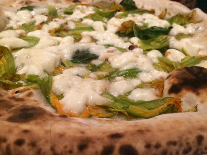 pizzeria Divina Regina, ai fiori di zucca