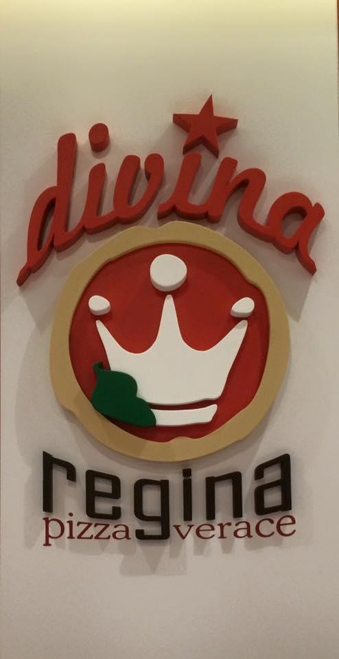 pizzeria Divina Regina, il logo