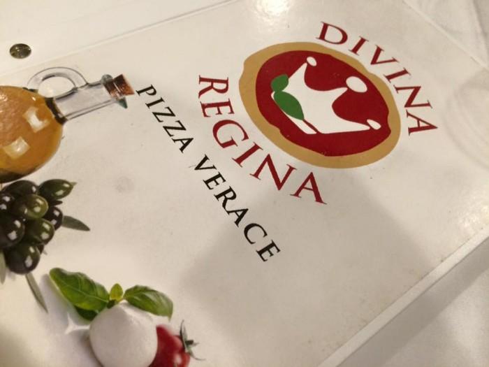 pizzeria Divina Regina, il menu
