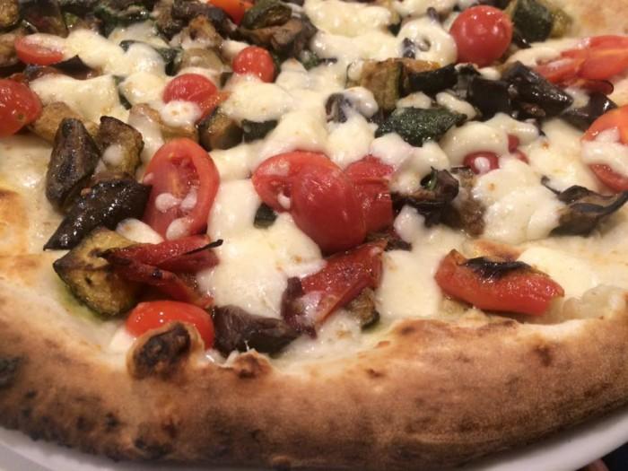 pizzeria Divina Regina, l'ortolana