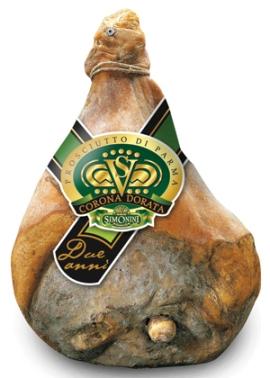 prosciutto Di Parma Simonini Con Osso 24 Mesi Corona Dorata