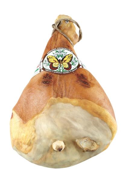 Prosciutto con Osso Classico Marca Farfalla DOP Ghirardi