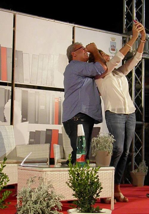selfie finale con Igles Corelli