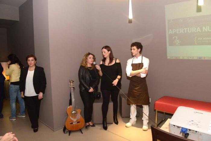 3Voglie, da sinistra: Maria Manuela Russo, Nunzia Gargano e Valentino Tafuri