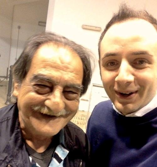 Agorà, Michele Rizzo e zio Nino Fortino (fornitore del pesce)
