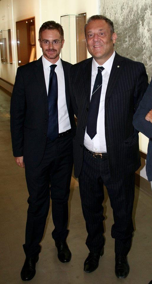 Alessandro Lodico e Piernicola Leone de Castris