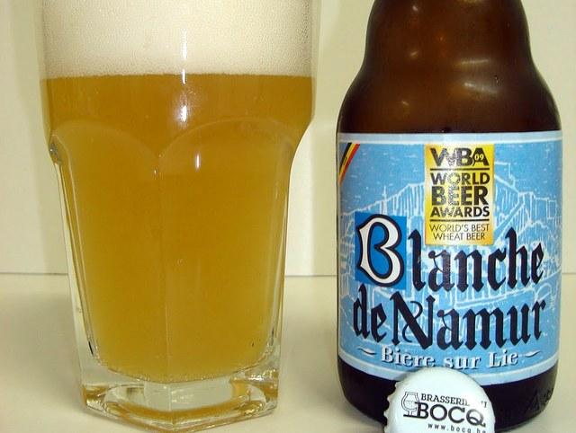 Bière Blanche de Namur della Brasserie Du Bocq