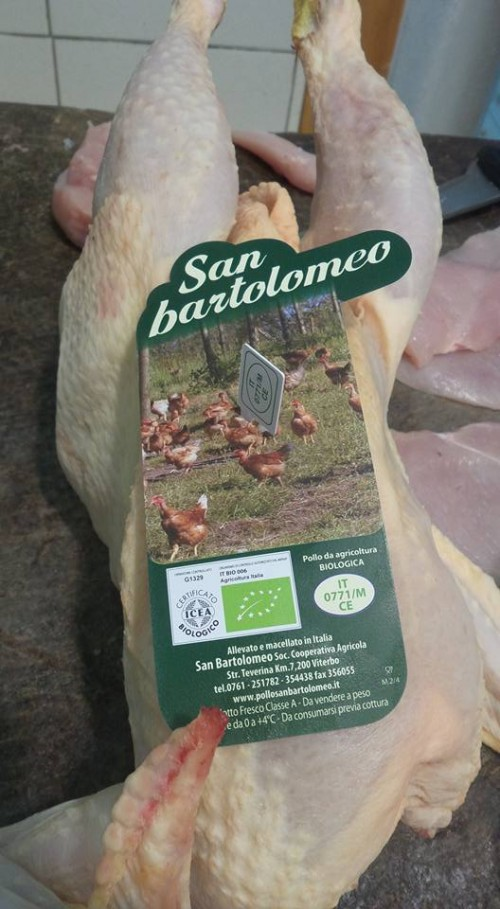 Biomacelleria Pasquale Larducci, pollo San Bartolomeo