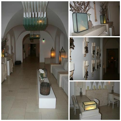 Borgo Eganzia, gli interni