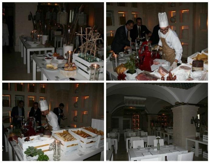Borgo Eganzia, il ristorante