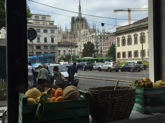 Brace e Risotti, vista del Duomo