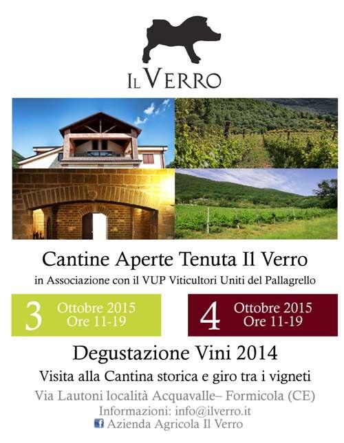 Cantine Aperte 2015 a Il Verro