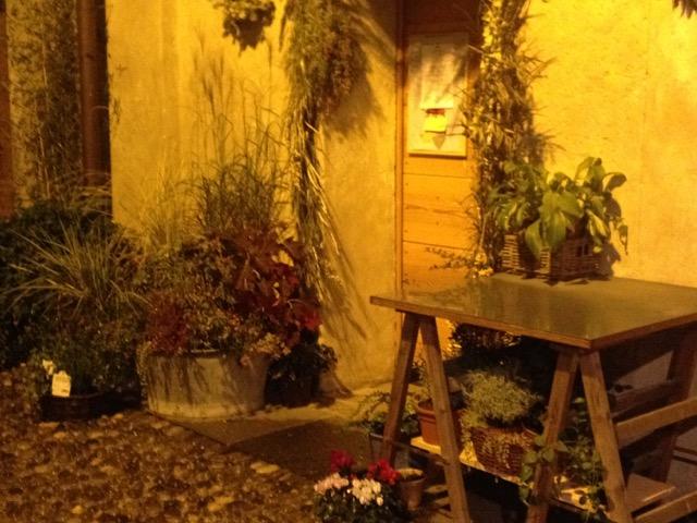 Cascina Cuccagna, angolo del giardino