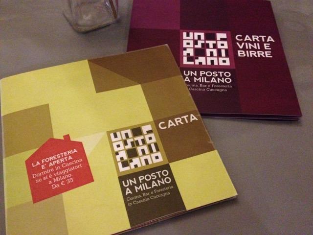 Cascina Cuccagna, menu e carta dei vini