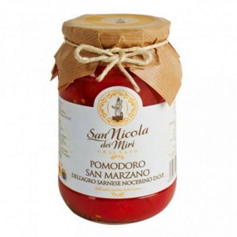 Conserve San Nicola dei Miri del Pastificio Gentile Pomodoro San Marzano dell'Agro Nocerino Sarnese Dop