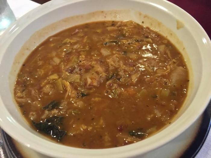 Da Benito, la zuppa di cavolo nero