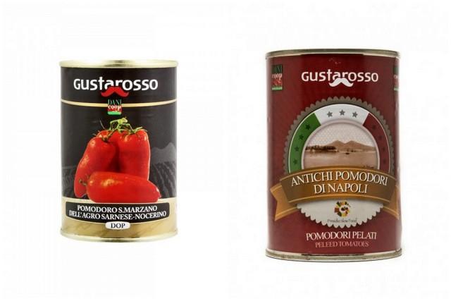 Danicoop Gustarosso.Pomodoro San Marzano dell'Agro Nocerino Sarnese Dop e Antichi Pomodori di Napoli Presidio Slow Food