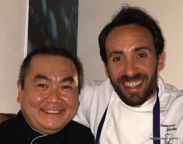 Gli chef, Ignacio e Francesco