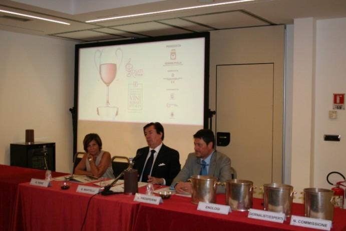 IV Concorso enologico nazionale dei vini rosati d'Italia, composizione delle commissioni a sorteggio