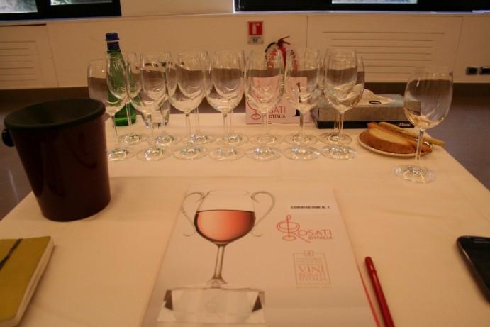 IV Concorso enologico nazionale dei vini rosati d'Italia
