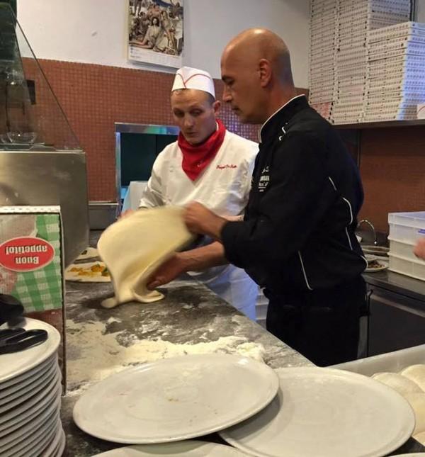 Il Peperoncino Caserta. Luciano Sorbillo con Pasquale De  Matteo