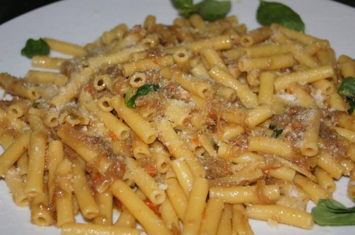 Il Peperoncino Caserta. Pasta alla genovese