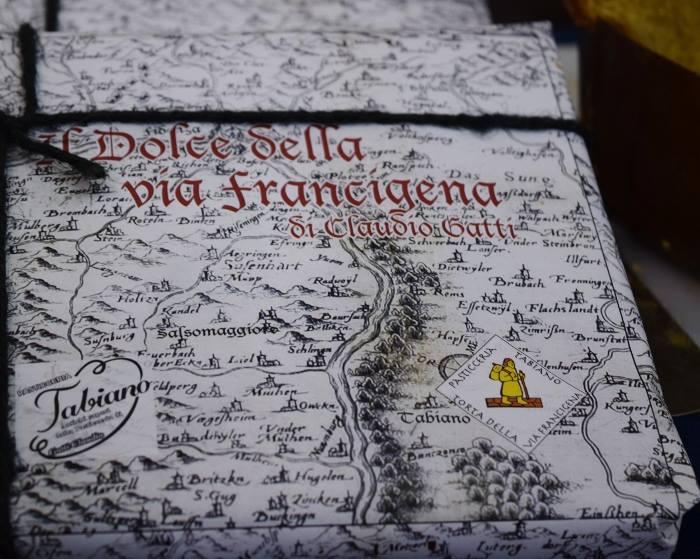 Il dolce della Via Francigena di Claudio Gatti