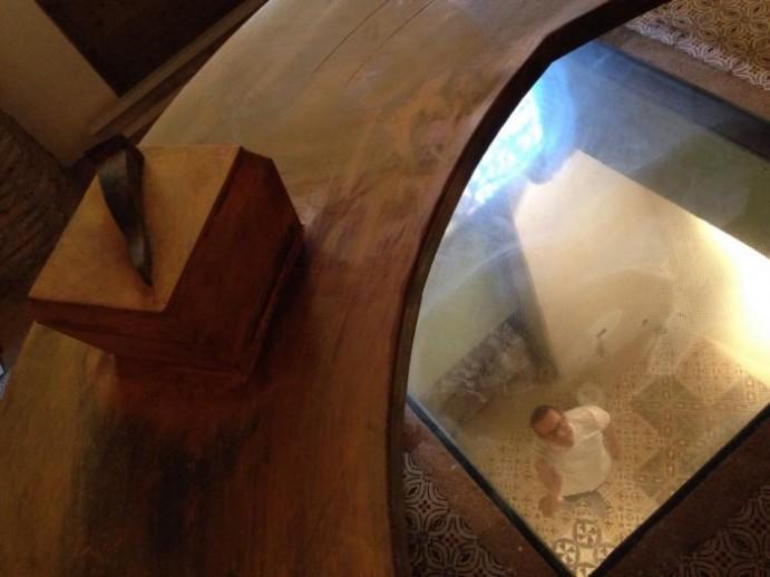 Il tavolo a ferro di cavallo