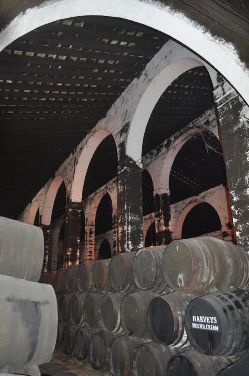 Jerez de la Frontera, l'interno di una bodega