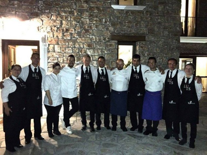 LUIS, lo staff con i due chef