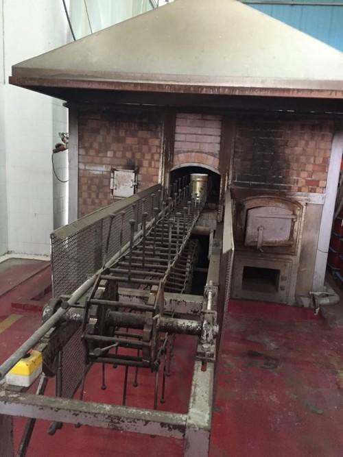 La Fiammante, il forno di cottura dei peperoni