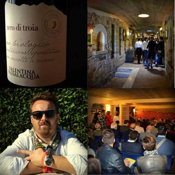 Luca Gardini ed il forum sul vino Nero di Troia