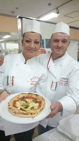 Maria Cacialli e Felice Messina