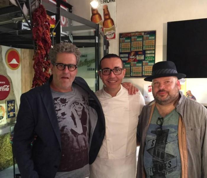 MasterChef a Napoli, Gino Sorbillo con Eyal Shani e Yonatan Roshfels