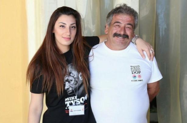 Mimmo La Vecchia con Alessia Izzo (Ass. Regia) foto di  Francesco Biasi