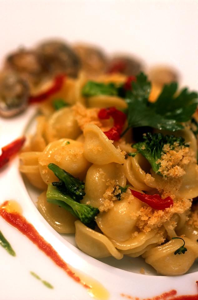 Orecchiete vongole e broccoli del Don Alfonso