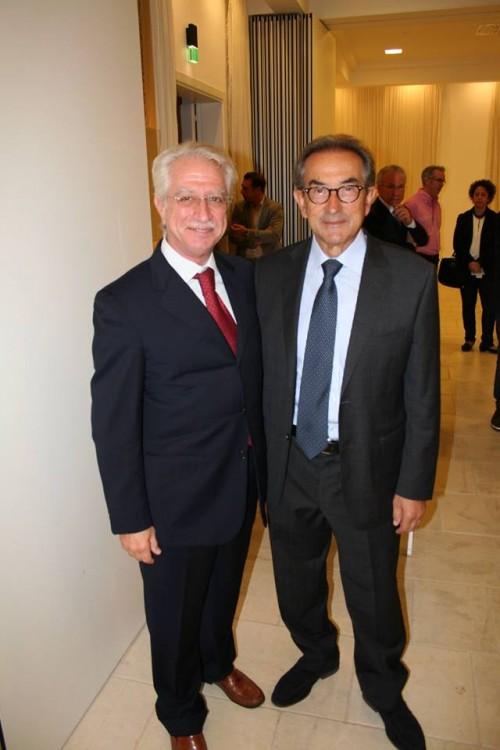 Ospiti d'eccellenza: Alessandro Candido dell'omonima azienda e Giuseppe Palumbo di Tormaresca