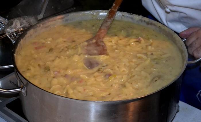 Pasta patate e provola di Pascalò - foto di Mariano Lauro