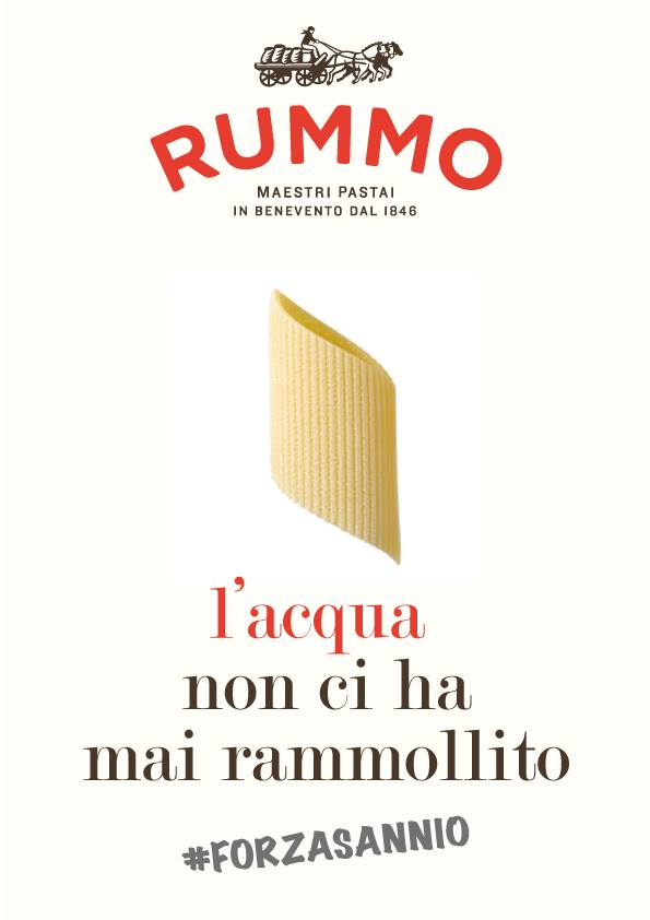 L'appello di Pasta Rummo