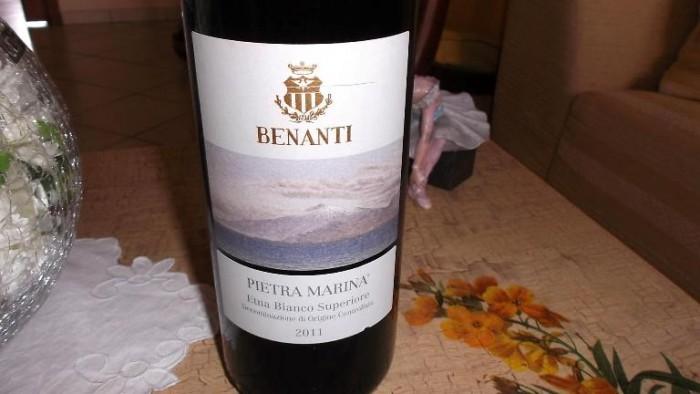 Pietra Marina Etna Bianco Superiore Doc 2011 Benanti