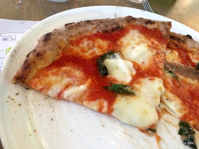Pizza a Firenze. La pizza  Margherita