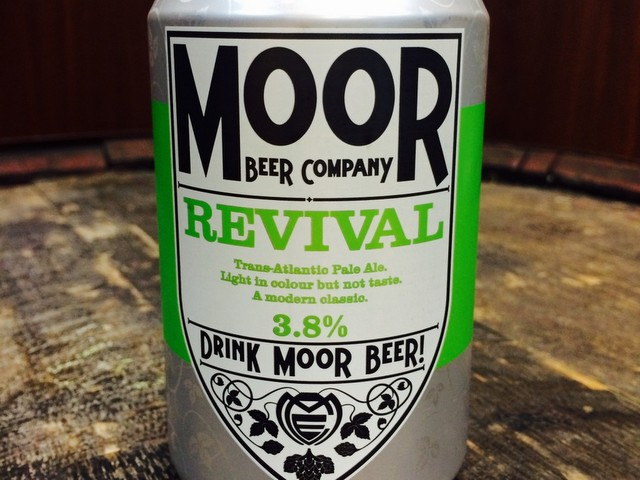 Revival, la Bitter di  Moor (Credits to hippobeers.co.uk)