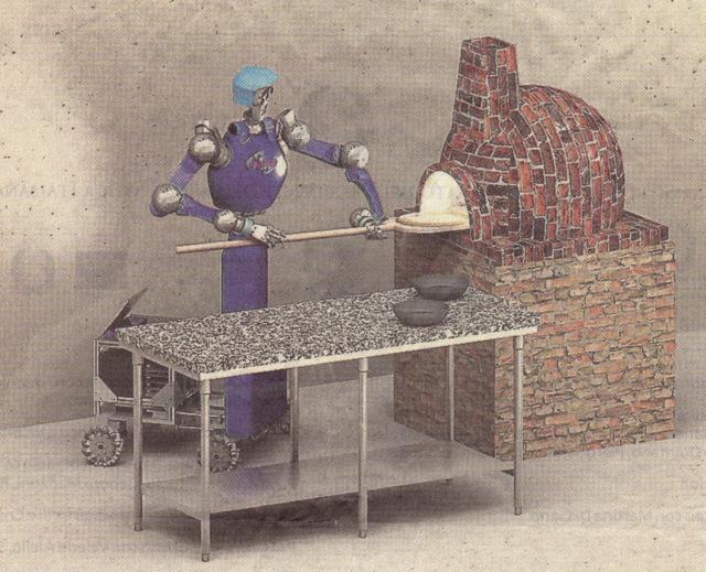 RoDyMan il Robot pizzaiuolo a Futuro Remoto