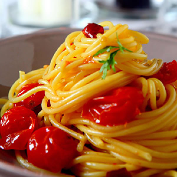 Spaghetti Rummo all'arrabbiata