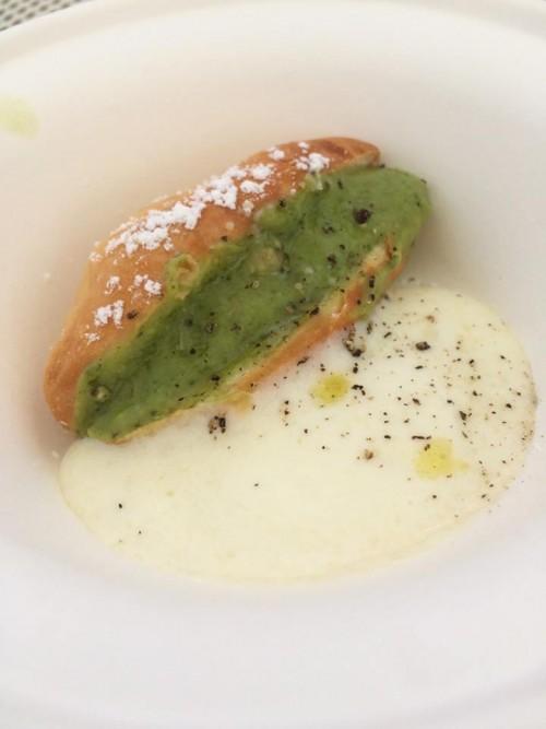 Taste of Rome 2015, maritozzo broccoli e salsiccia cacio e pepe