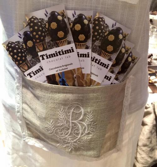 TimiTimi, i segnalibro della cioccolateria