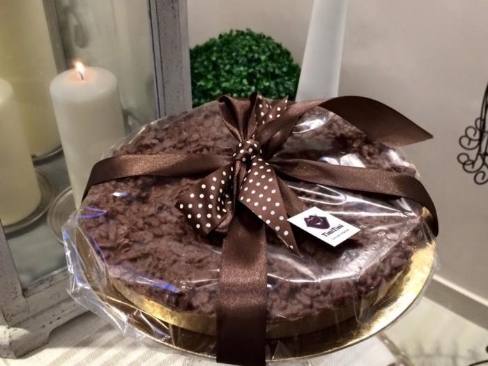 TimiTimi, una delle torte di cioccolato, con riso soffiato